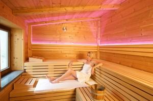 Hauseigene Finnische Sauna