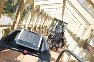 Fitnessraum im Nebengebäude